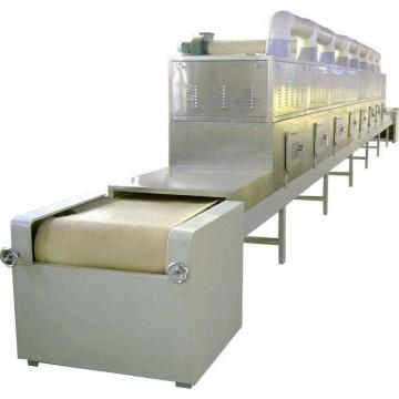 Large Industrial Continuous Microwave Mesh Belt Drying Machine