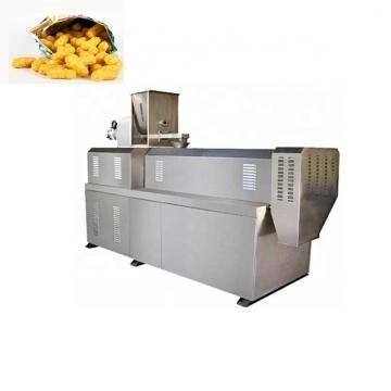 Single Screw Kurkure Extruder Cheetos Nik Naks Snack Food Machine Production Line