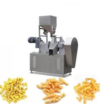 Twin Screw Extrusion Corn Flakes Snacks Food Machinery