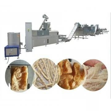 Textured Vegetarian Multifunctional Ce Textured Soy Protein Extruder Machinery