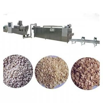 Automatic Soy Protein Extruding Machine Tvp Nuggets Extruder Soy Chunks Processing Line 500kg/H High-Quality Soy Protein Machine