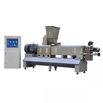 twin screw food lines corn puff snack extruder