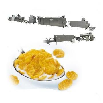 Hot Sale Cereals Puffing Corn Flakes Production Process Machine Pillow Snacks Cereal Food Processing Line for Sale