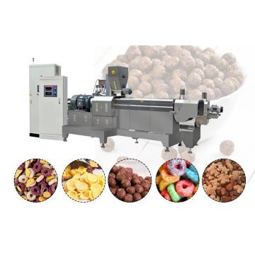 High Capacity Double-Screw Breakfast Cereal Corn Flakes Production Line