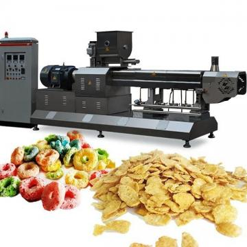 Industrial Corn Flakes Manufacturing Machine Breakfast Cereal Flaking Production Line