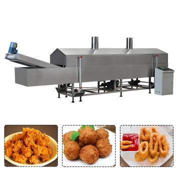 Industrial Continuous French Fries Potato Chips Frying Production Line