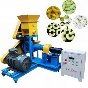 Different Size Snack Food Extruder Production Line Machine
