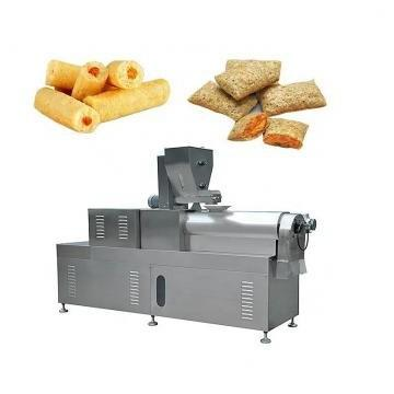 Crunchy Cheesy Puffs Corn Snacks Food Production Machine