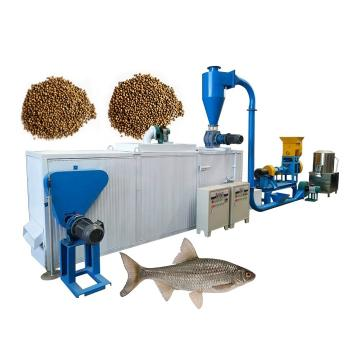 Full Automatic PLC Control Poultry Feed Pellet Making Machine Fish Shrimp Feed Production Line