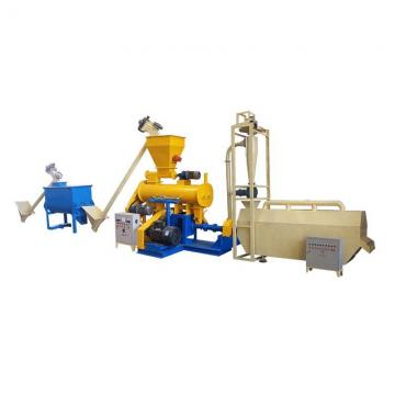 Automatic Extruded Fish Feed Making Production Machine Line