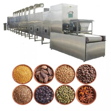 Commercial Automatic Tunnel Microwave Dryer Red Beans Curing Machine