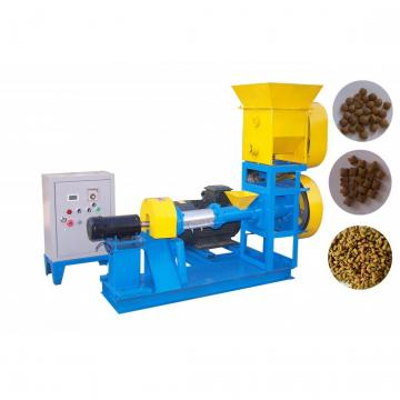 Automatic Dry Animal Pet Dog Cat Floating Sinking Fish Feed Pellet Production Snack Food Processing Making Extrusion Extruder Machine