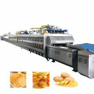 Professional Industrial Fried Potato Chips Food Making Machine Fried Snacks Food Fryer Machine for Sale