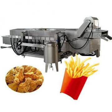 Coal Heated Conveyor Continuous Fried Food Fryer Machine