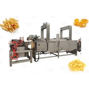 Food Machine for Potato Chips, Chicken Nuts Automatic Lifting Fryer