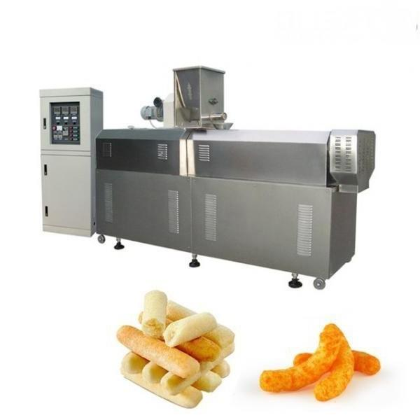 Crispy Corn Snack Food Production Plant/Core Filling Making Machine with Ce for Business